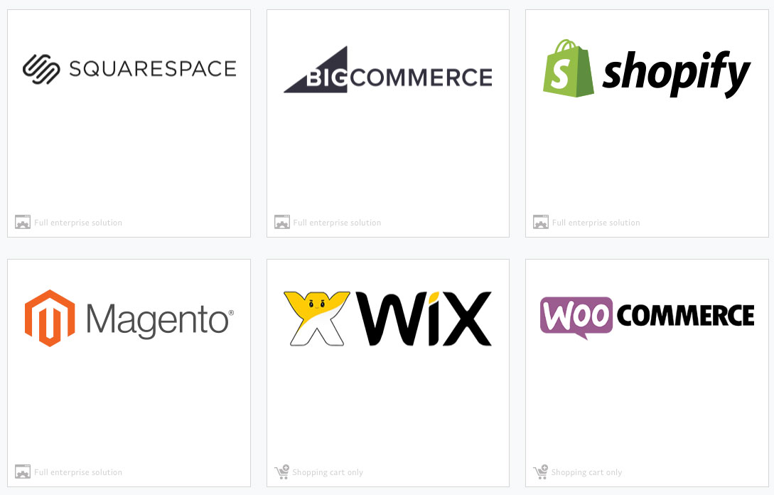 ecommerce solutions featuring the bigcommerce software affordable